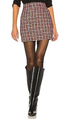 Livia Mini Skirt L'AGENCE $325