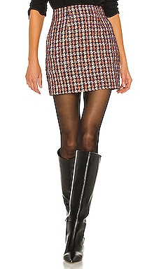 Livia Mini Skirt L'AGENCE $325 Collections