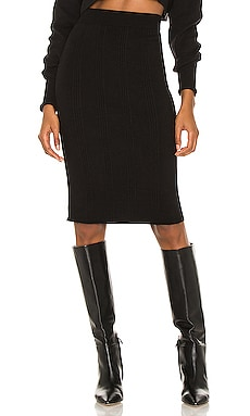 Jessica Knit Midi Skirt L'AGENCE $77 Collections