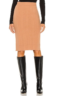 Jessica Knit Midi Skirt L'AGENCE $147 Collections