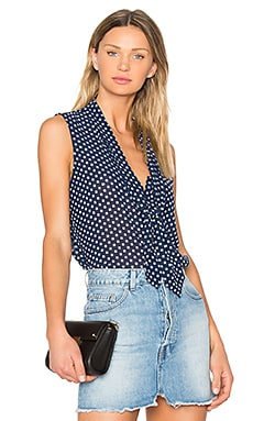 Natalia Top in Navy