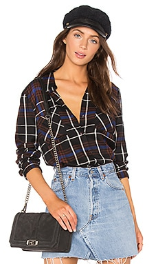Denise Contrast Back Shirt