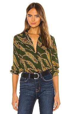 Nina Long Sleeve Blouse L'AGENCE $149