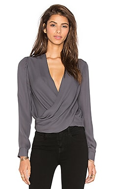 Gia Blouse in Charcoal