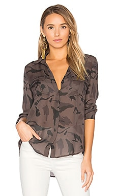 Valerie Top in Camo Multi