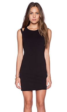 LA Made Essie Dress in Black