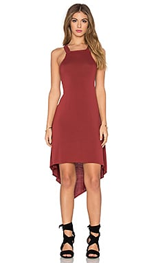 LA Made Aria Cross Back Dress in Cadenza