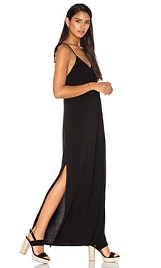 LA Made Molly Maxi Dress in Black