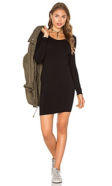 Sandra Dress en Noir