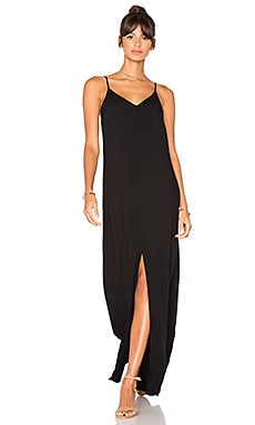 Kate Slip Dress in Black