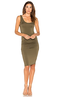 Frankie Dress in Olive Night