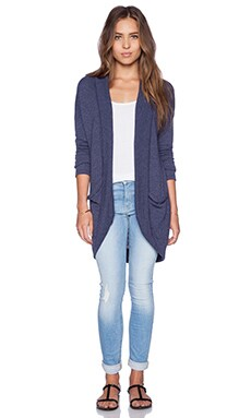 LA Made Theo Cardigan in Midnight