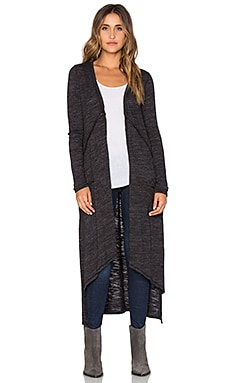 LA Made Lauren Cardigan in Black