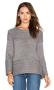 Olivia Pullover in Charcoal Heather Grey