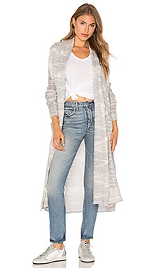 LA Made Jeronimo Cardigan in Heather Grey