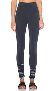 LA Made Legging in Anthracite Grey