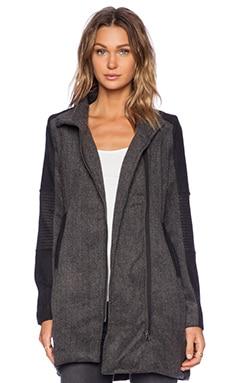 LA Made Blocked Odessey Coat in Tweed