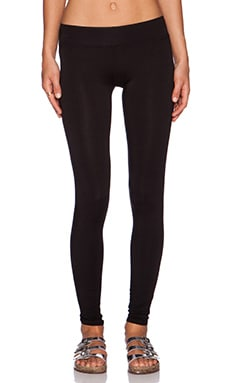 LA Made Lounge Skinny Legging in Black