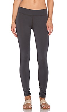 LA Made Lounge Skinny Legging in Raven