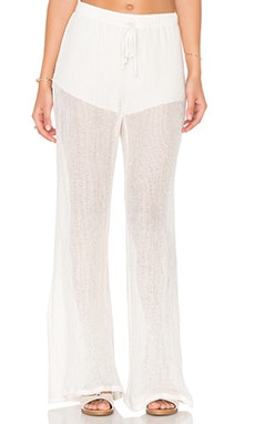 LA Made Ollie Flare Pant in Natural