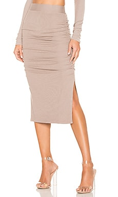 Gathered Midi Skirt LA Made $84 BEST SELLER