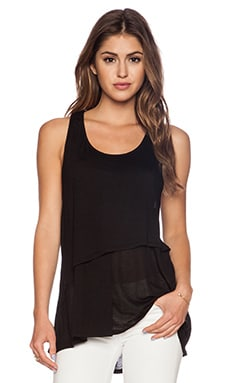 LA Made Layer Tank in Black
