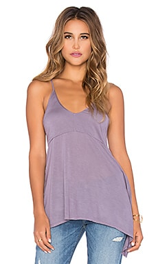 LA Made Micromodal Lily Tank in Smokey Lavender