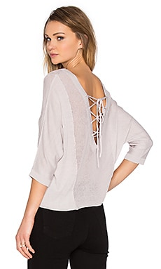 Lila Dolman Top in Cement