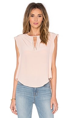 LA Made Rosalie Top in Pale Blush