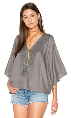 Sophie Caftan in Charcoal