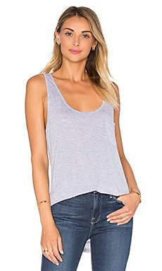 LA Made Boyfriend Tank in Heather Grey