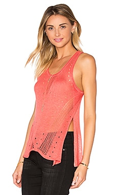 LA Made Emely Tank in Coral