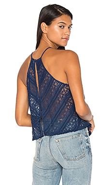 Gatsby Cami in Egyptian & Blue