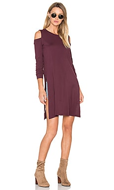 Mara Tunic Dress in Acai