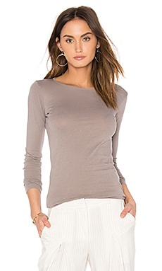 Crew Neck Tunic in Peppercorn