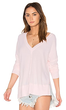 Erica Thermal Top in Pale Pink