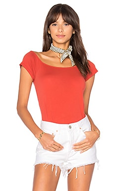 Imelda Off Shoulder Top in Bossa Nova