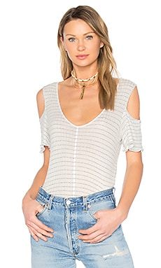 Alexa Cold Shoulder Top