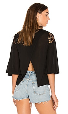 Sonny Top in Black