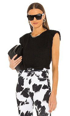 Serene Padded Muscle Top LA Made $84