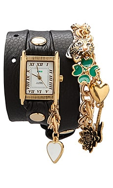 La Mer Lucky Charms in Black