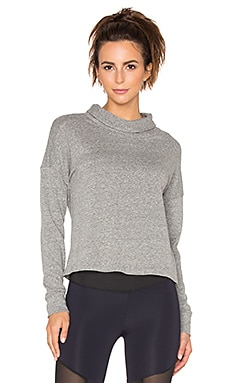 Lanston Sport Turtleneck Sweatshirt in Heather