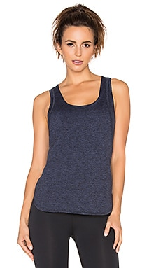 Lanston Sport Double Layer Tank in Navy