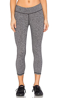 Cropped Legging in Heather