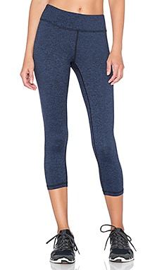 Lanston Sport Cropped Legging in Navy
