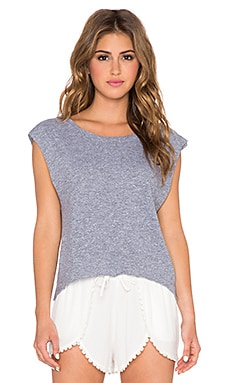 Lanston Sport Cropped Tank in Heather