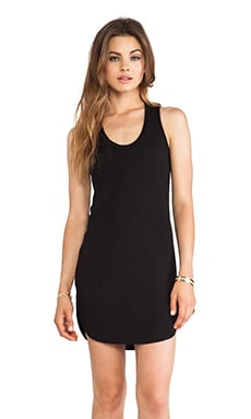Racerback Mini Dress in Black