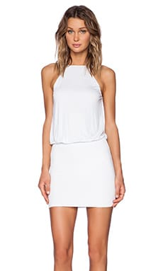 Lanston Halter Dress in White