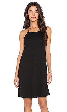 Lanston Halterneck Dress in Black