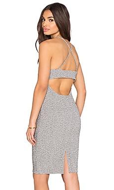 Lanston Open Back Cami Dress in Grey